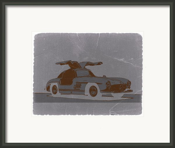 Mercedes Benz 300 Framed Print By Irina  March