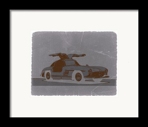 Mercedes Benz 300 Framed Print By Naxart Studio