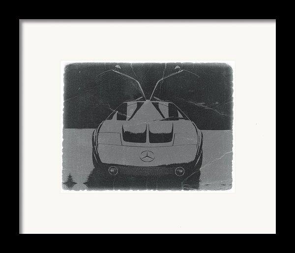 Mercedes Benz C Iii Concept Framed Print By Naxart Studio