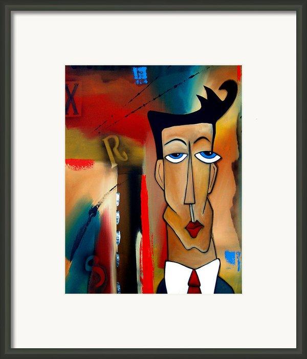 Merger - Abstract Art By Fidostudio Framed Print By Tom Fedro - Fidostudio
