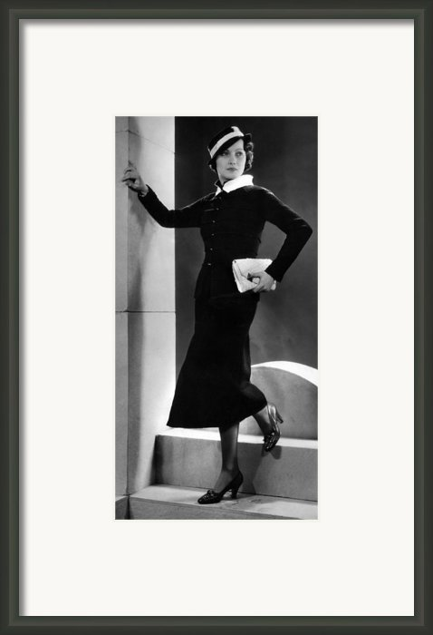Merle Oberon, Ca. 1934 Framed Print By Everett