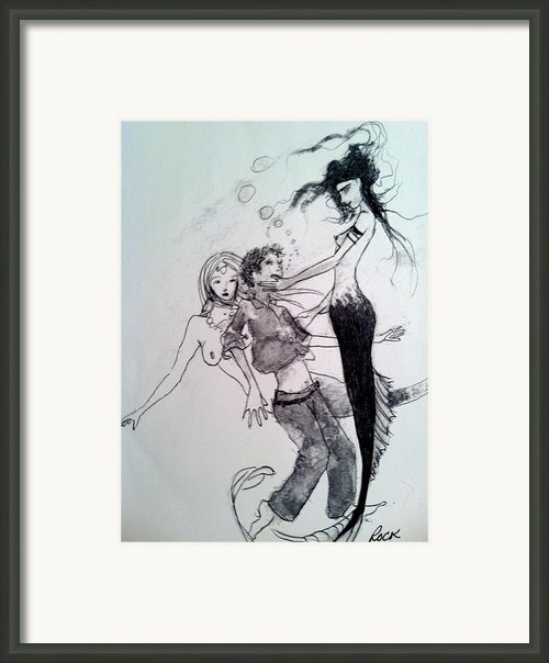 Mermaids Framed Print By Jackie Rock