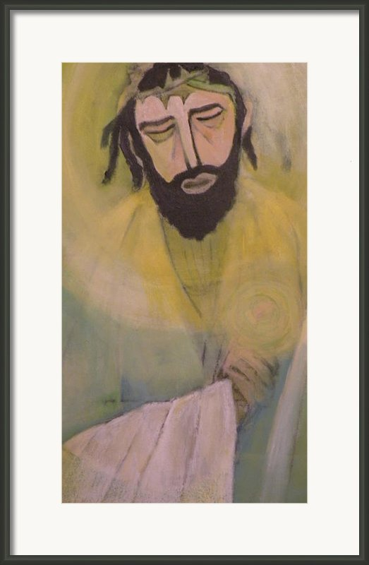 Mesiah Framed Print By Robert Daniels