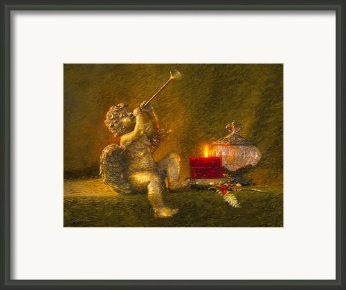 Messages From Heaven Framed Print By Greg Olsen