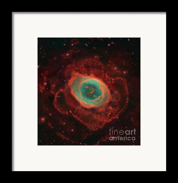 Messier 57, The Ring Nebula Framed Print By Robert Gendler