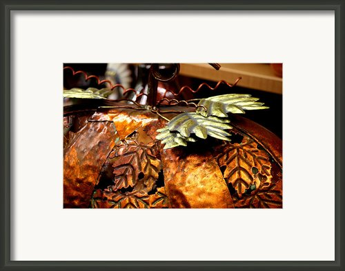 Metal Art 4 Framed Print By Karen M Scovill