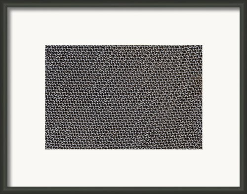 Metal Meshwork Framed Print By Dirk Wiersma