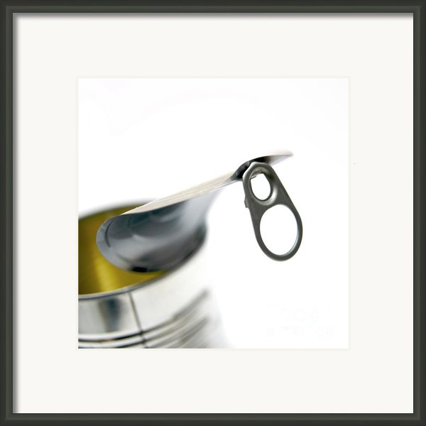 Metallic Can Framed Print By Bernard Jaubert