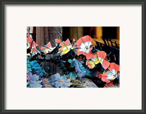 Metallic Poppies Framed Print By Karon Melillo Devega