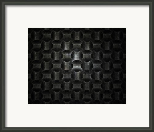 Metallic Weave Framed Print By David April