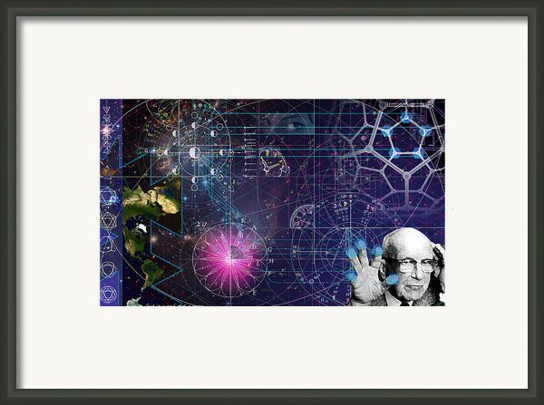 Metaphysical Gravity Framed Print By Kenneth Johnson