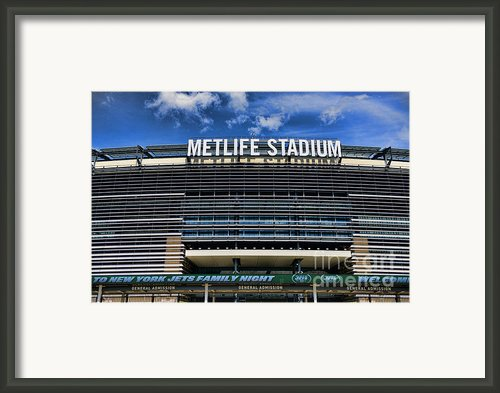 Metlife Stadium Framed Print By Paul Ward