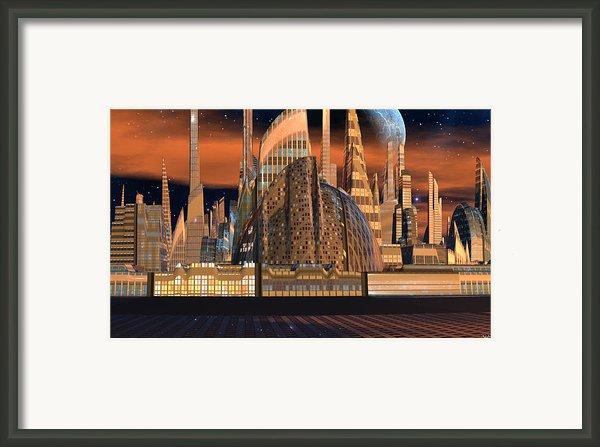 Metropolitan Opera Nyc Framed Print By Heinz Mielke