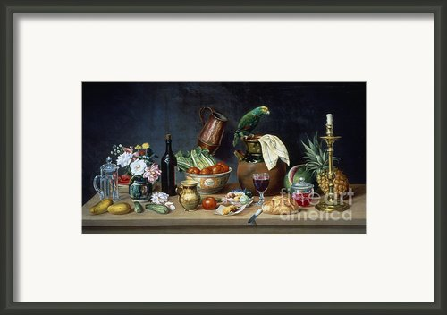Mexico: Still Life Framed Print By Granger