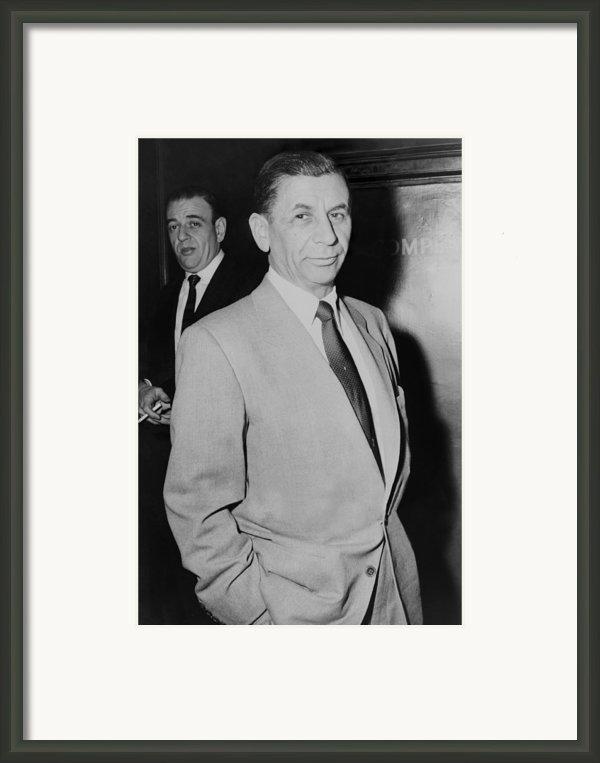 Meyer Lansky 1902-1983, Underworld Framed Print By Everett