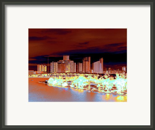 Miami Heat Framed Print By Molly Mcpherson