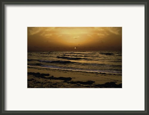 Miami Sunrise Framed Print By Gary Dean Mercer Clark