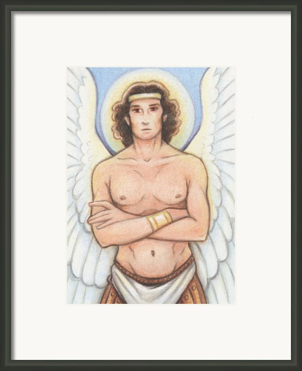 Michael Framed Print By Amy S Turner