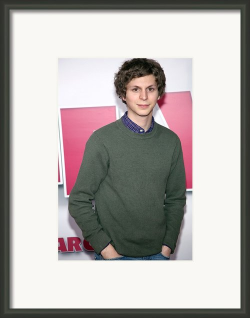 Michael Cera At Arrivals For Year One Framed Print By Everett