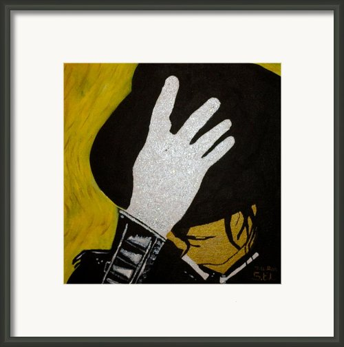 Michael Jackson Framed Print By Estelle Breton-maya