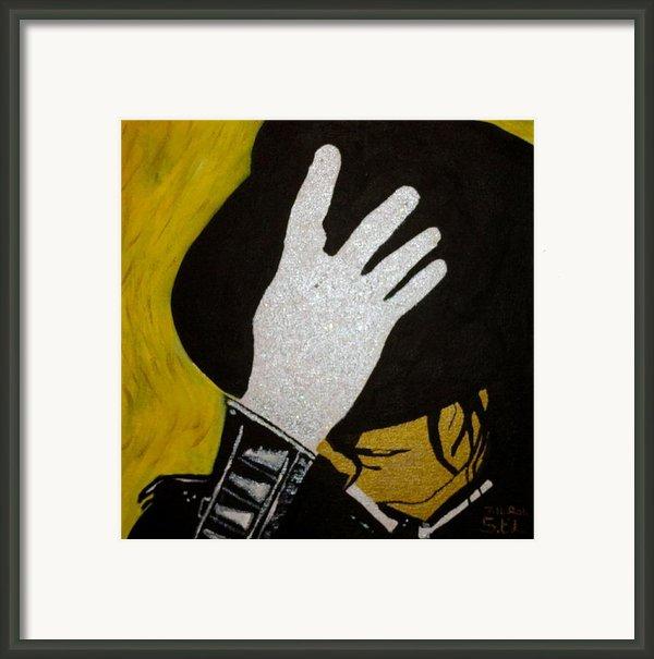 Michael Jackson Framed Print By Estelle Breton-maya