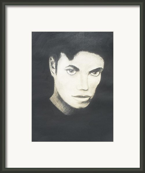 Michael Jackson Framed Print By Jose Valeriano