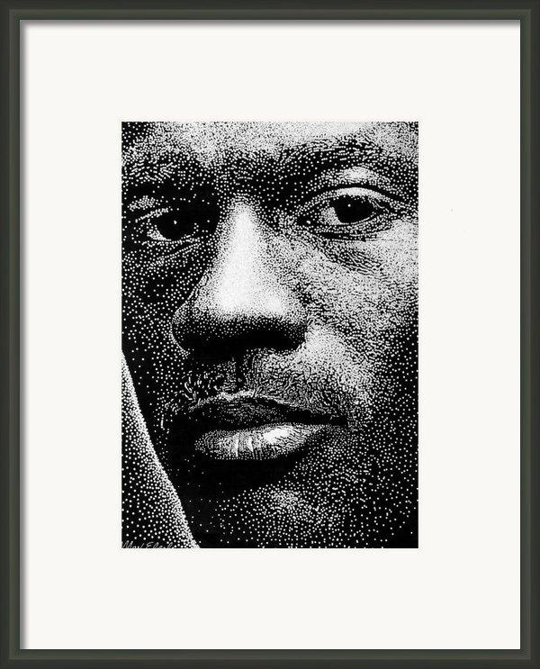 Michael Jordan Framed Print By Max Eberle