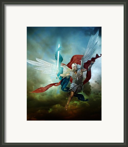 Michael Framed Print By Karen Koski