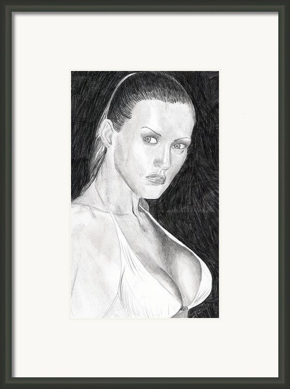 Michelle Framed Print By Michael Mckenzie