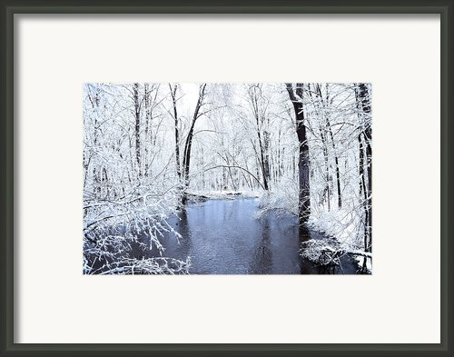 Michgan Winter 10 Framed Print By Scott Hovind