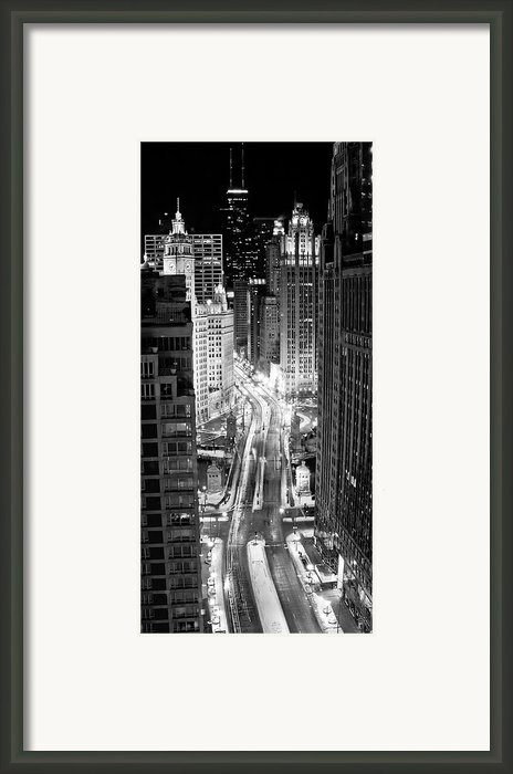 Michigan Avenue Framed Print By George Imrie Photography