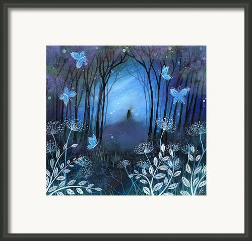 Midnight Framed Print By Amanda Clark