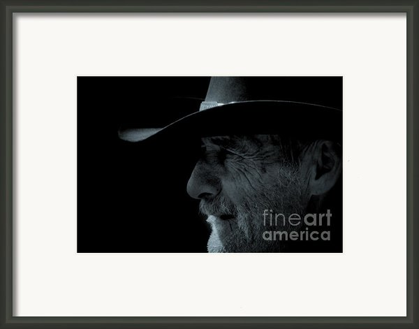 Midnight Cowboy Framed Print By Christine Till