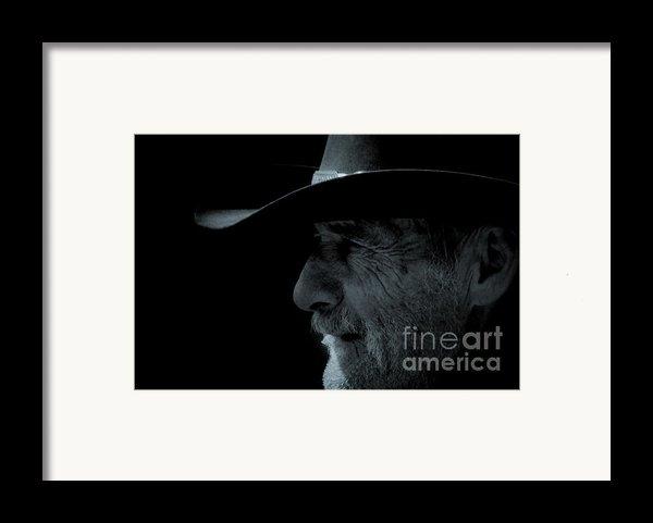 Midnight Cowboy Framed Print By Christine Till