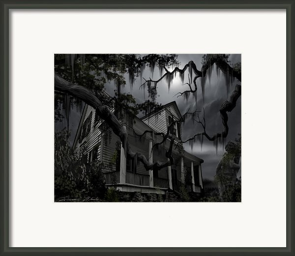Midnight In The House Framed Print By James Christopher Hill
