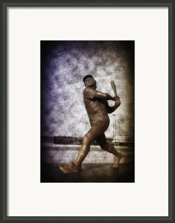 Mike Schmidt - Philadelphia Phillie Framed Print By Bill Cannon