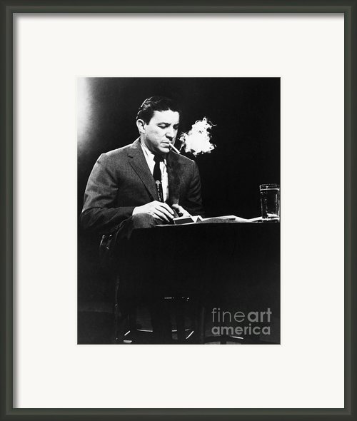Mike Wallace (1918-2012) Framed Print By Granger