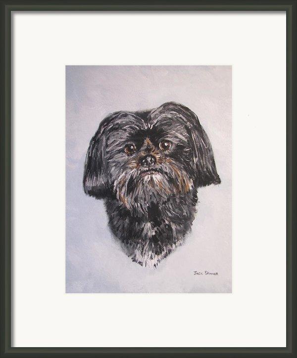 Mikey Framed Print By Jack Skinner
