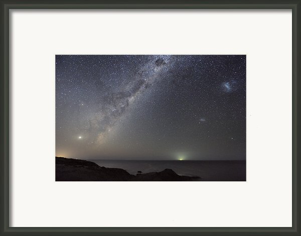 Milky Way Over Flinders, Australia Framed Print By Alex Cherney, Terrastro.com