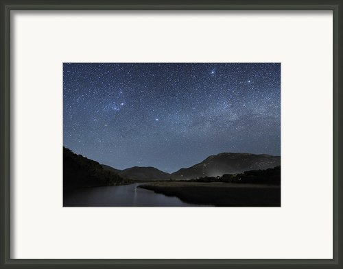 Milky Way Over Wilsons Promontory Framed Print By Alex Cherney, Terrastro.com