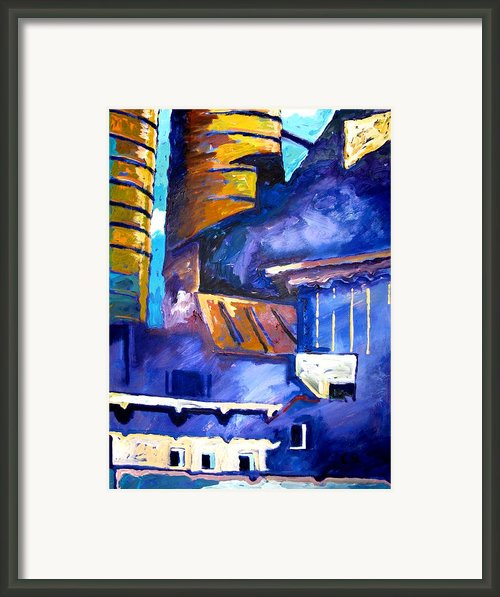 Mill Viii Framed Print By Charlie Spear