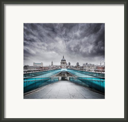 Millenium Bridge London Framed Print By Martin Williams