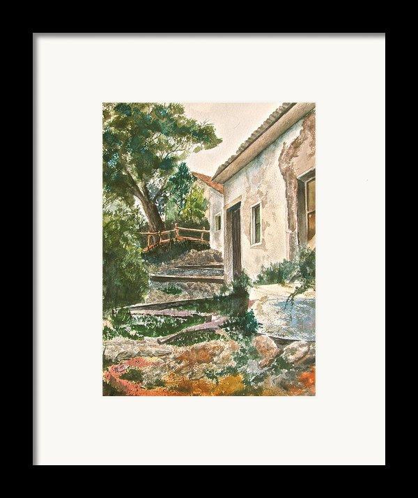 Millstone Aria Framed Print By Frank Santagata