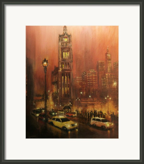 Milwaukee City Hall Framed Print By Tom Shropshire