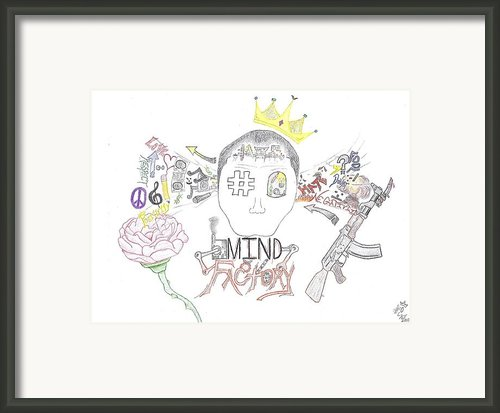 Mind Factory Framed Print By Devrryn Jenkins