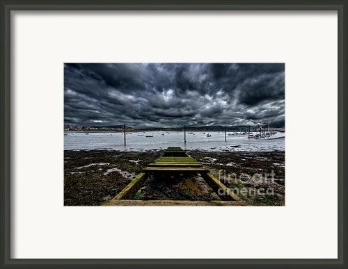 Mind The Gap Framed Print By Meirion Matthias