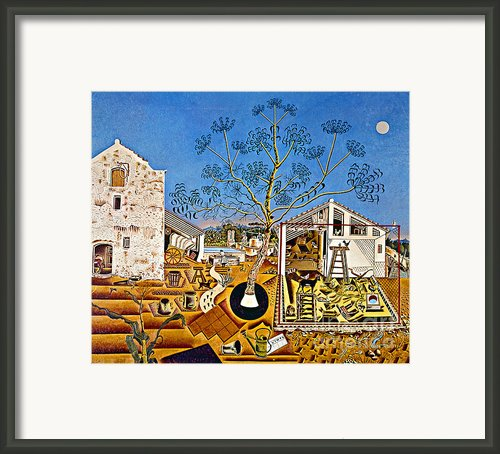 Miro Farm Framed Print By Granger