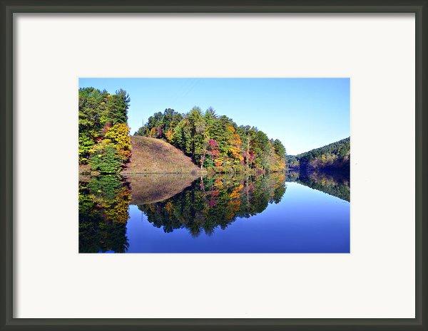 Mirror Image Framed Print By Susan Leggett