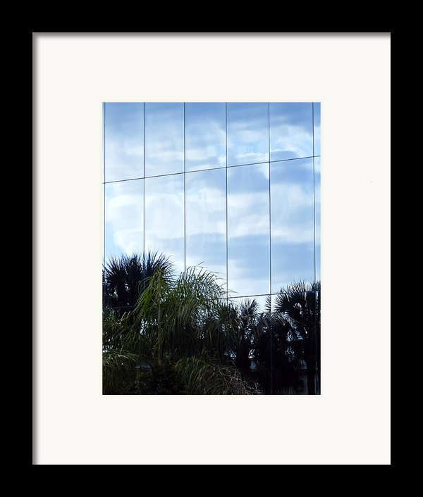 Mirrored Facade 1 Framed Print By Stuart Brown