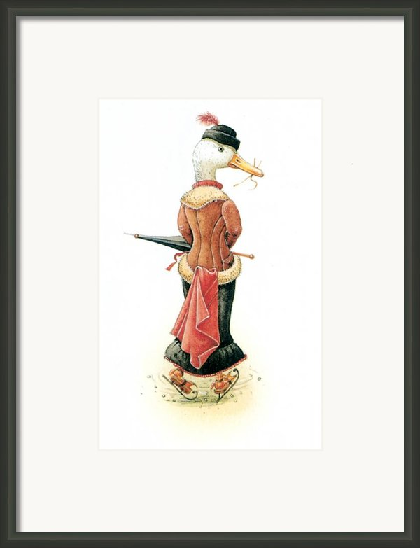 Miss Duck Framed Print By Kestutis Kasparavicius